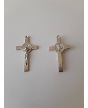 Хрест з медаликом св. Бенедикта 20х35 мм