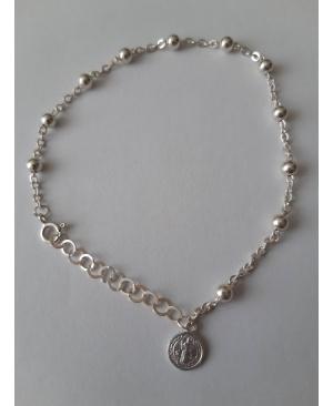 Браслет Бенедикта срібний 925 проби (2,7 грам)